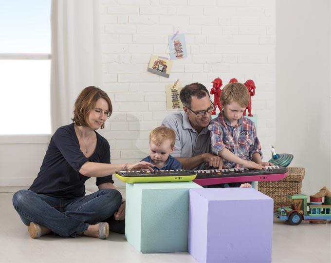 Đàn organ mini Casio SA: rất thích hợp làm quà tặng cho bé