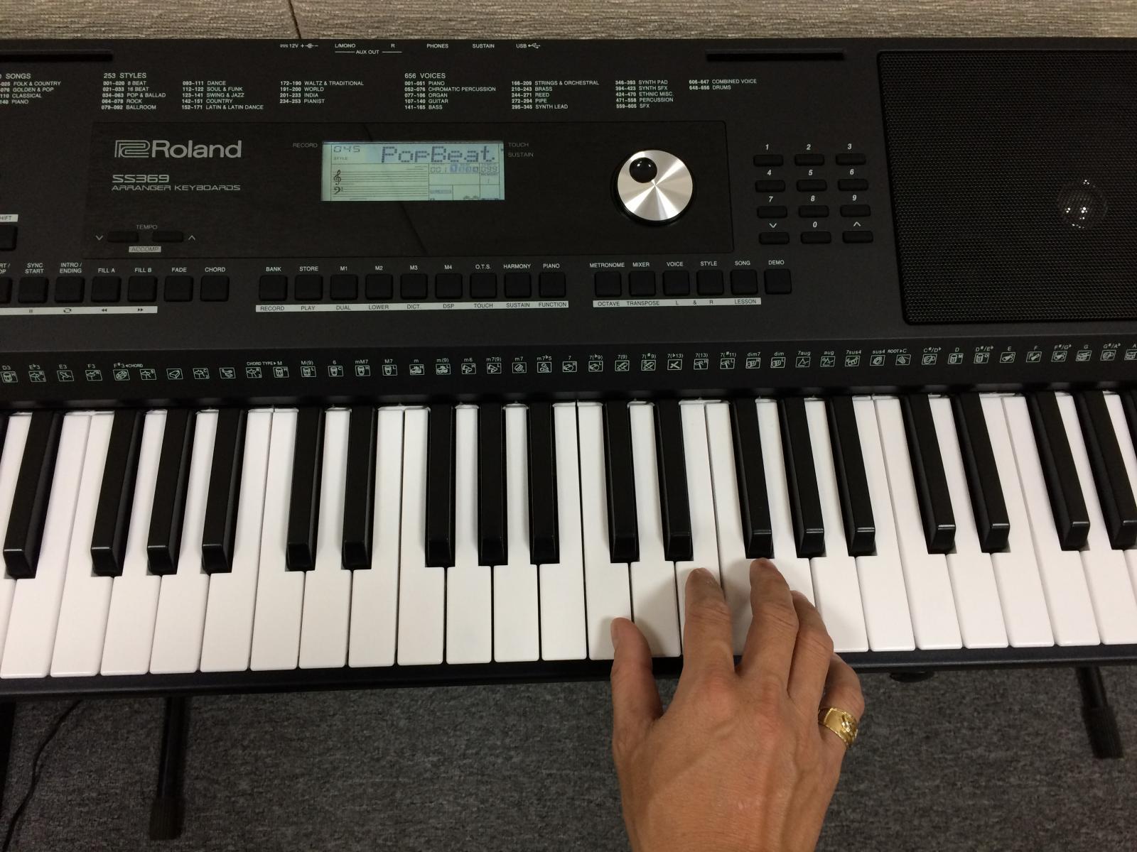 phím đàn Roland EX20