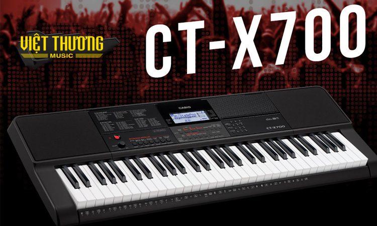 Đánh giá đàn organ casio CT-X700 mới ra mắt năm 2019