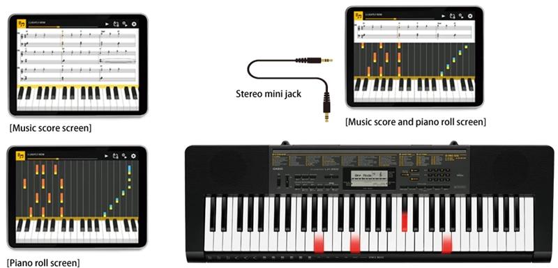 Đàn Organ Casio LK-265 - Con đường đơn giản để học Piano