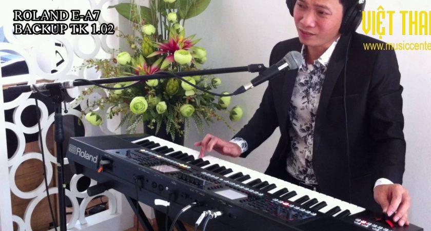 Đàn organ Roland EA7 Trung Kiên