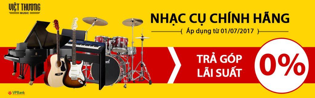 Mua nhạc cụ trả góp 0% tại Việt thanh Music