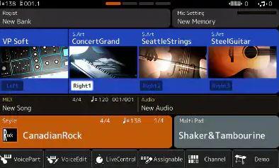 Kiểm soát âm thanh với đàn organ Yamaha PSR-SX700